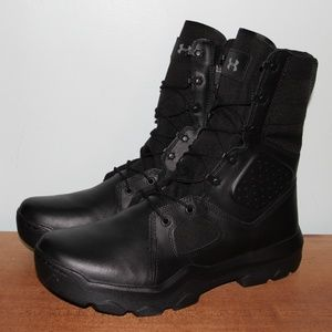 """NEW Under Armour FNP Zip 8"""" Tactical Boots Mens 13"""